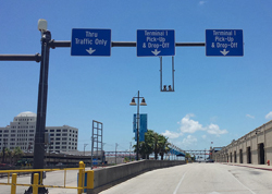 Port of Galveston parking