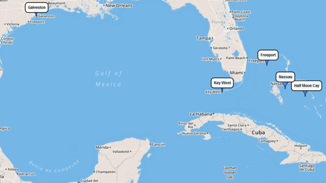 eastern caribbean cruises 2020
