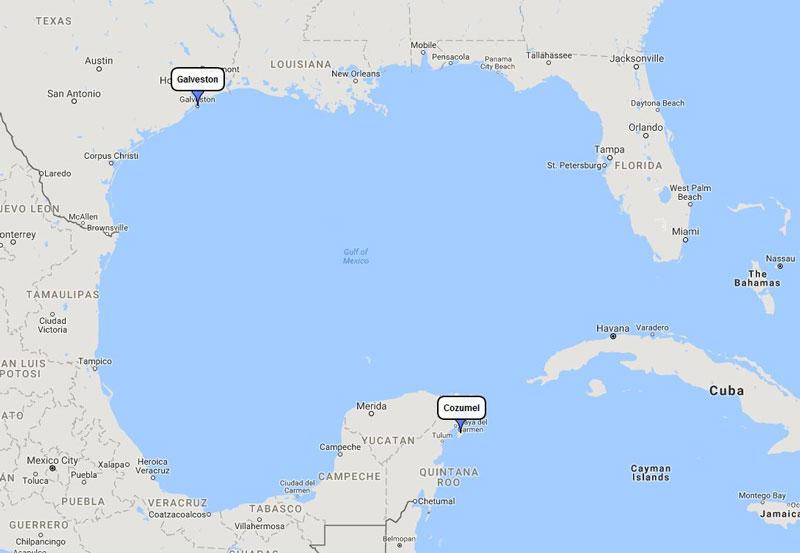 Carnival Valor Cozumel Plus Mini Cruise From Galveston